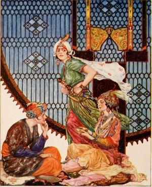 Audiolibro: Las 1001 Noches : Historia del mercader y el efrit