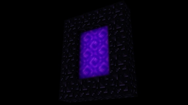 Nether Portal Rig (Moving textures)  + Potion Particles