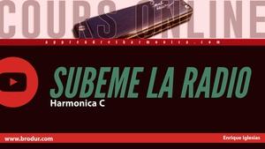 Subeme la radio - Enrique Iglesias - Harmonica C