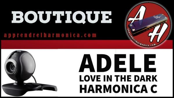 Tablature Musescore - Adele - Love in the dark - Harmonica C