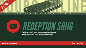 Tablature Harmonica ''Redemption song'' - Bob Marley