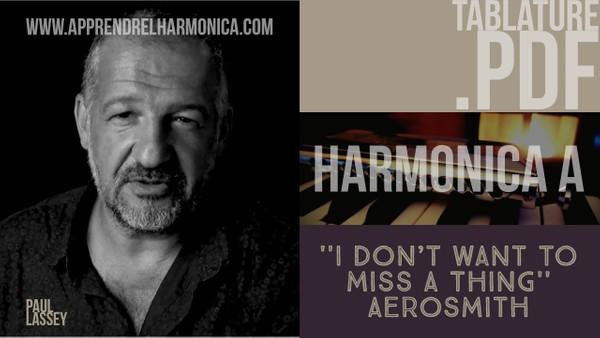 Aerosmith - I Don t Want To Miss A Thing - Harmonica A (.pdf tab)