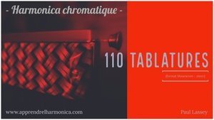 110 Tablatures - Harmonica chromatique - .mscz files