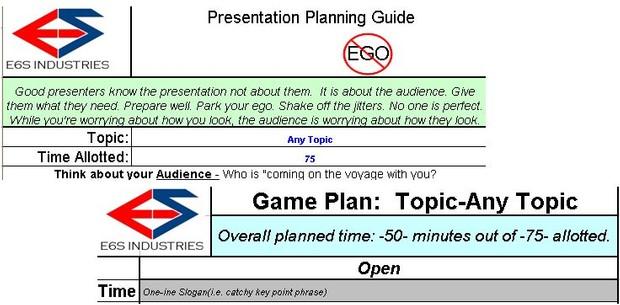 Presentation Planning Guide
