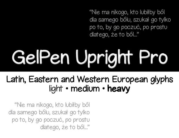 GelPen Upright Pro