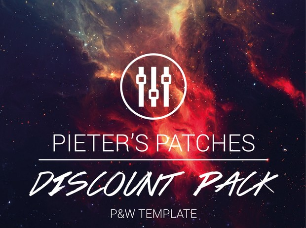 Pieter's Patches Mainstage 3 Combi Pack