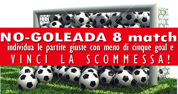 NO-Goleada su 8 match