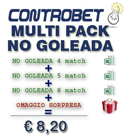 Multi Pack NO Goleada