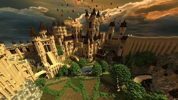Castle KitPvP map! on