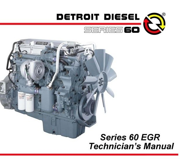 Detroit Diesel Series 60 >> Detroit Diesel Engine Series 60 Ddec Egr Technicians Manual