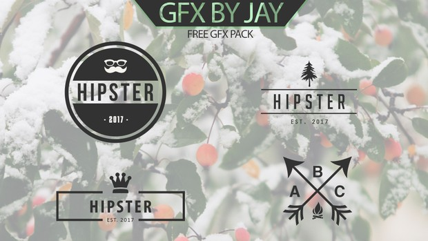 Free Hipster Logos Template By JAY - Jay Tailor
