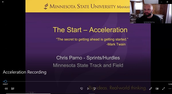The Start - Acceleration Chris Parno
