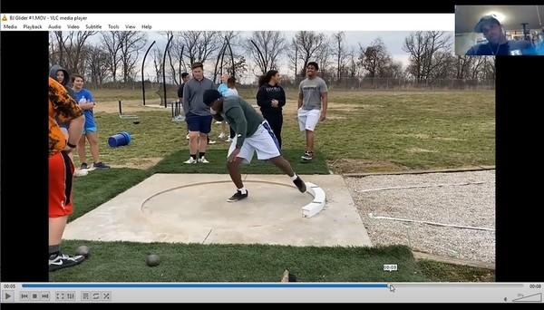 Shot Put Athletes Technical Analysis #1