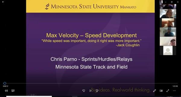 Max Velocity - Speed Development Chris Parno