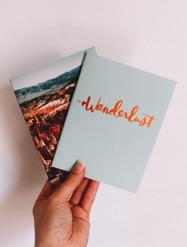 Wanderlust Mini Notebook Set