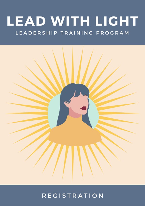 Lead with Light Leadership Training Program Registration