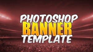 YouTube Channel Art Template (Photoshop)
