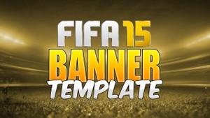 FIFA 15 Banner (PSD Template)