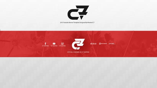FaZe Styled Youtube Banner Template