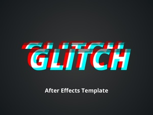 Glitch 2.0  - After Effects Template