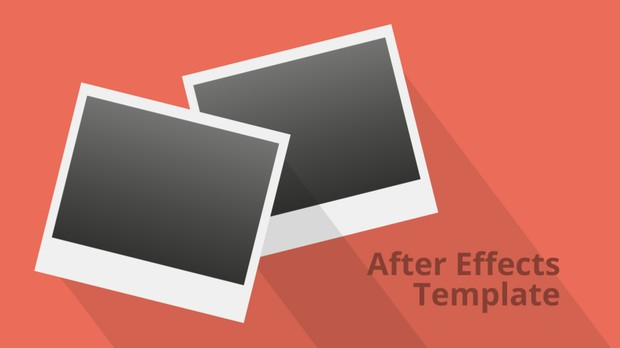 Falling Photos Slideshow - Retro Style After Effects Template