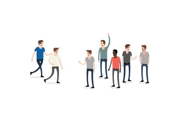 Vector Character Set - People