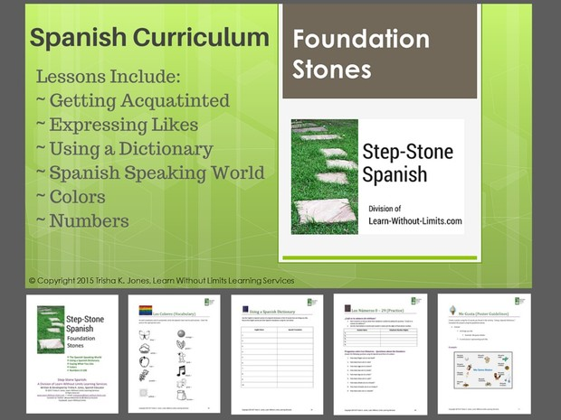 Lesson Plans: Spanish Foundations