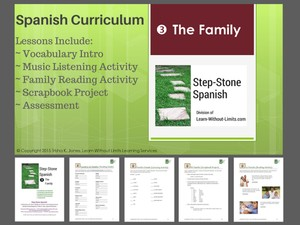 Lesson Plans: The Family (Spanish)