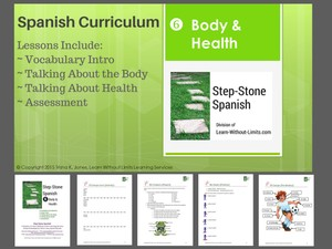 Lesson Plans: Spanish Body & Health