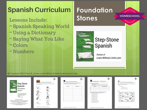 Homeschool Spanish: Beginning Foundation