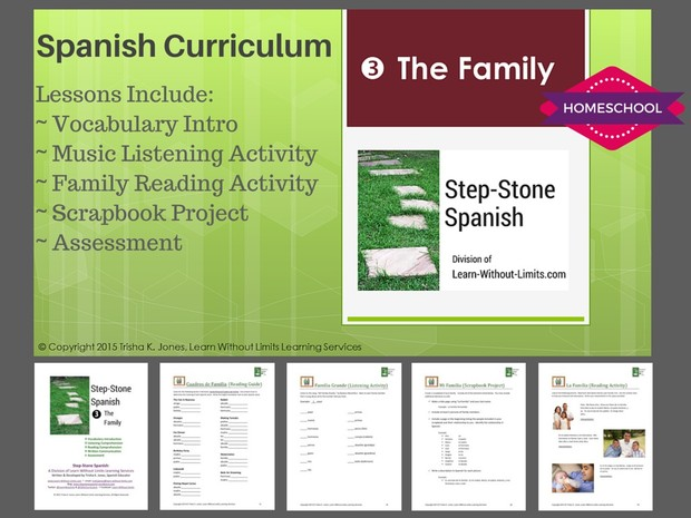Homeschool Spanish: The Family