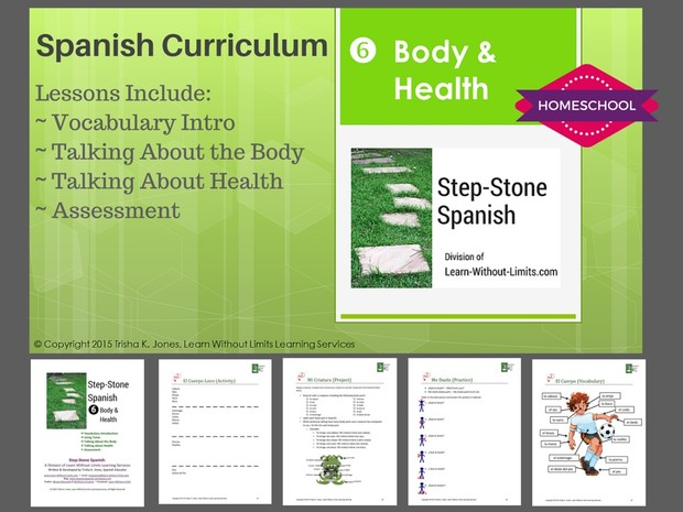 Homeschool Spanish: Body & Health