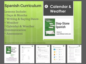 Lesson Plans: Spanish Calendar & Weather