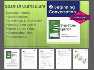 Homeschool Spanish: Beginning Conversation