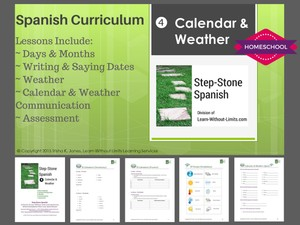 Homeschool Spanish: Calendar & Weather