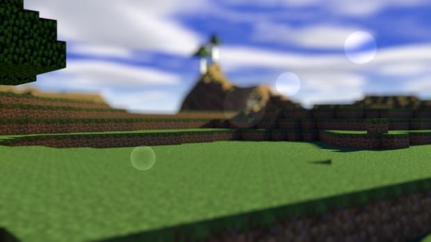 Cinema 4d Minecraft Lightroom v1