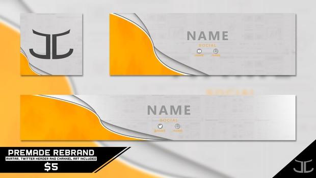 Clean Professional 2D Premade Rebrand