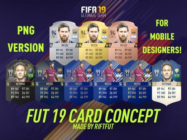 FIFA 19 CARD CONCEPT MEGA PACK (PNG)
