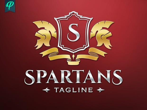 Spartans - Crest Logo Template