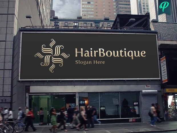 HairBoutique - Elegant Logo Template