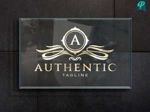 Authentic - Vintage Logo Template