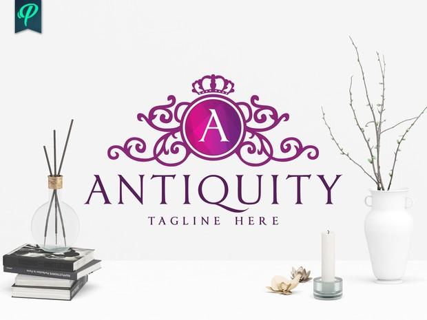 Antiquity - Luxury Logo Template