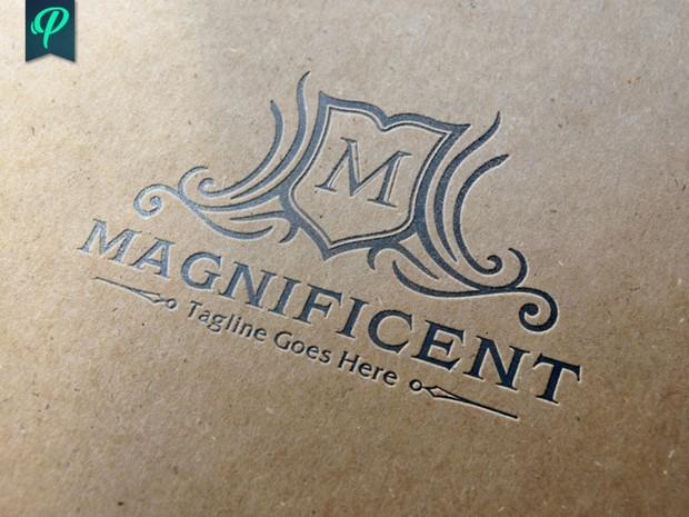 Magnificent - Crest Logo Template