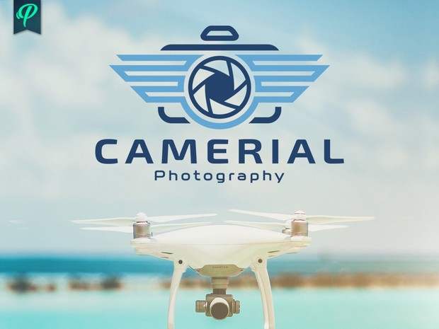 Camerial - Aerial Photography Logo