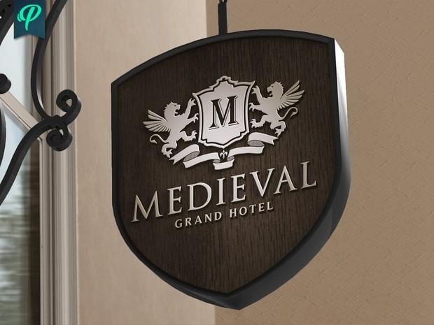 Medieval - Heraldic Logo Template