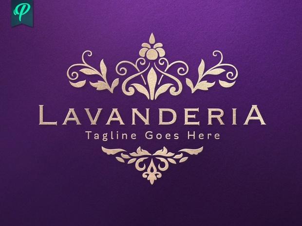 Lavanderia - Classy Vintage Logo Template