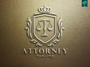 Lawyer, Attorney Logo Template