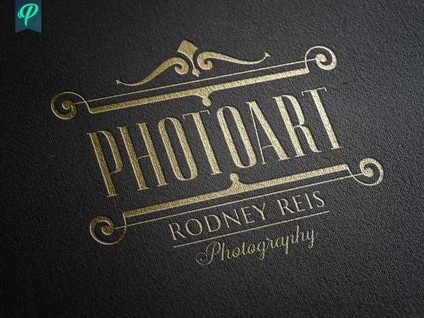 Vintage style Photography Logo Bundle
