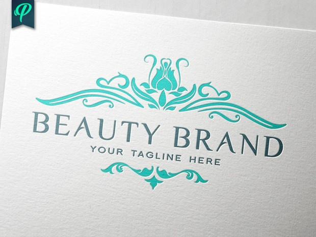 Beauty Brand Logo Template