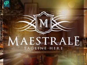 Maestrale - Classy Elegant Logo Template